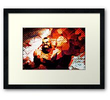The Russian Wrestler 2 Framed Print