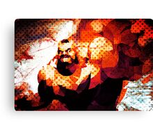 The Russian Wrestler 2 Canvas Print