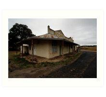 Butcher, Draper, Grocer, Lue, NSW Art Print