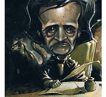 edgar allan poe by hollandart