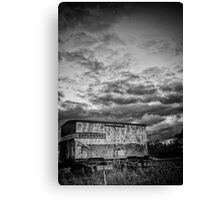 an empty threat Canvas Print