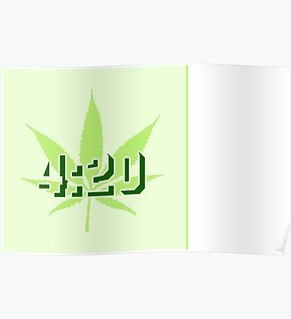 4:20 - Legalize Cannabis VRS2 Poster