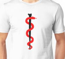 Rod of Asclepius Unisex T-Shirt