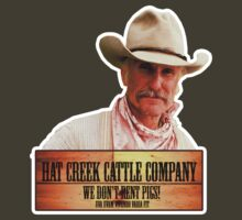 Lonesome Dove - Hat Creek Cattle Company by Groatsworth