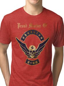 Proud Member of Shadaloo Tri-blend T-Shirt