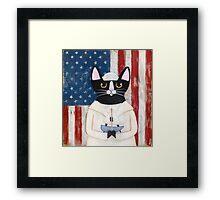 American Sailor Framed Print