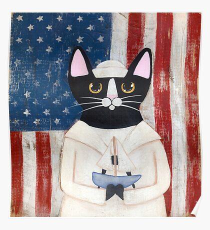 American Sailor Poster