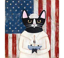 American Sailor Photographic Print