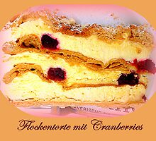 Flockentorte mit Cranberries by ©The Creative Minds