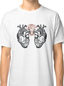 The Twin Heartbeat of a Time Lord Classic T-Shirt