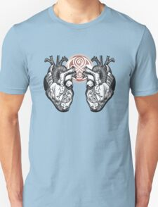 The Twin Heartbeat of a Time Lord Unisex T-Shirt