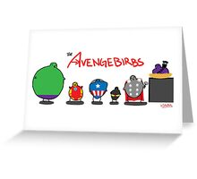 The Avengebirbs Greeting Card