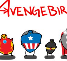 The Avengebirbs Sticker