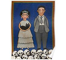 Frida and Diego Poster