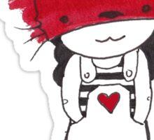 Fox Child Malkah Sticker