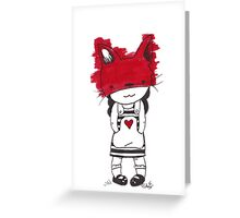 Fox Child Malkah Greeting Card