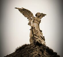 Guardian Angel, Comillas, Spain by buttonpresser