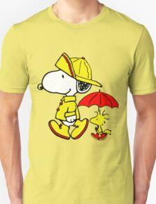 Raining Snoopy and Woodstock T-Shirt
