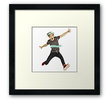 Joe Sugg Framed Print