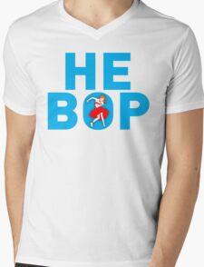 HE BOP Mens V-Neck T-Shirt