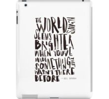 Brighter World iPad Case/Skin