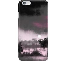 Lake in morning light iPhone Case/Skin