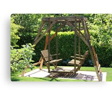 University Place Garden Tour - Home #1 The Glider Canvas Print
