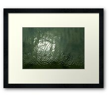Drips and Drops Framed Print