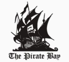 The Pirate bay (black) by xyren
