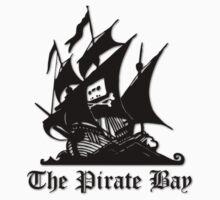 The Pirate bay (black) by xyren