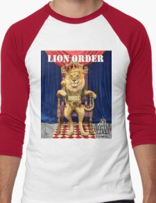 Dj Khaled Lion Order parody  Men's Baseball ¾ T-Shirt