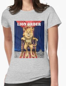 Dj Khaled Lion Order parody  Womens Fitted T-Shirt