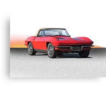 1963 Corvette Roadster Canvas Print