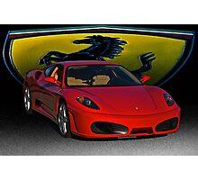 Ferrari F430 Scuderia III Photographic Print