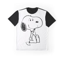 Snoopy Smiling Graphic T-Shirt