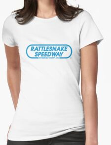 Rattlesnake Speedway - Inspired by Bruce Springsteen's 'The Promised Land' Womens Fitted T-Shirt