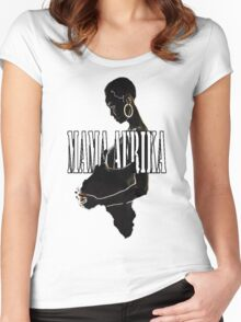 Mama Afrika Women's Fitted Scoop T-Shirt