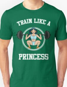 Train Like A Princess Gym T-Shirt