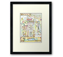 Three Jacks and a King II (The Blood Puppet Framed Print