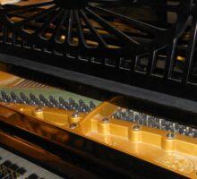Bechstein Mini Grand Piano - Keyboard Close-up Sticker