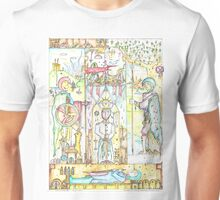 Three Jacks and a King II (The Blood Puppet Unisex T-Shirt