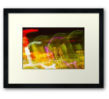Melting Sun with Spastic Solar Rays in SPACE!!!! Framed Print