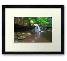 Cauldron Falls Framed Print