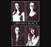 Orphan Black (white text) by knicks93