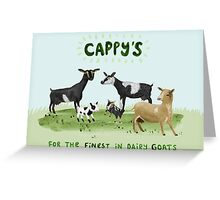 Cappy's Commission Greeting Card