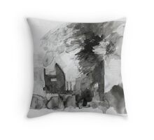 Mannamead Road 2 Throw Pillow