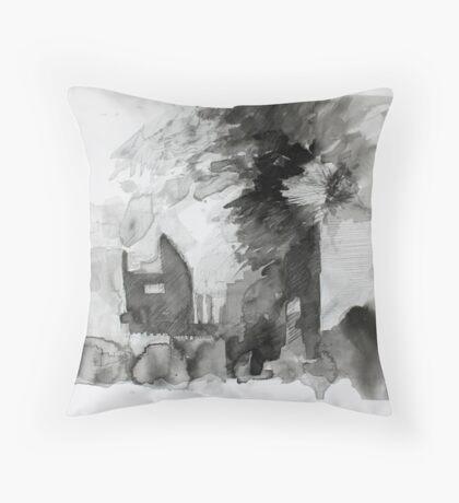 Mannamead Road 2 Throw Pillow