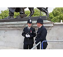 Police at Trooping The Colour Photographic Print