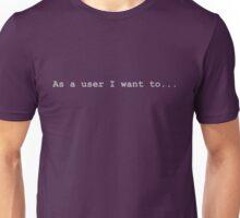User Story Unisex T-Shirt