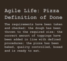 Definition of Done - Pizza T-Shirt
